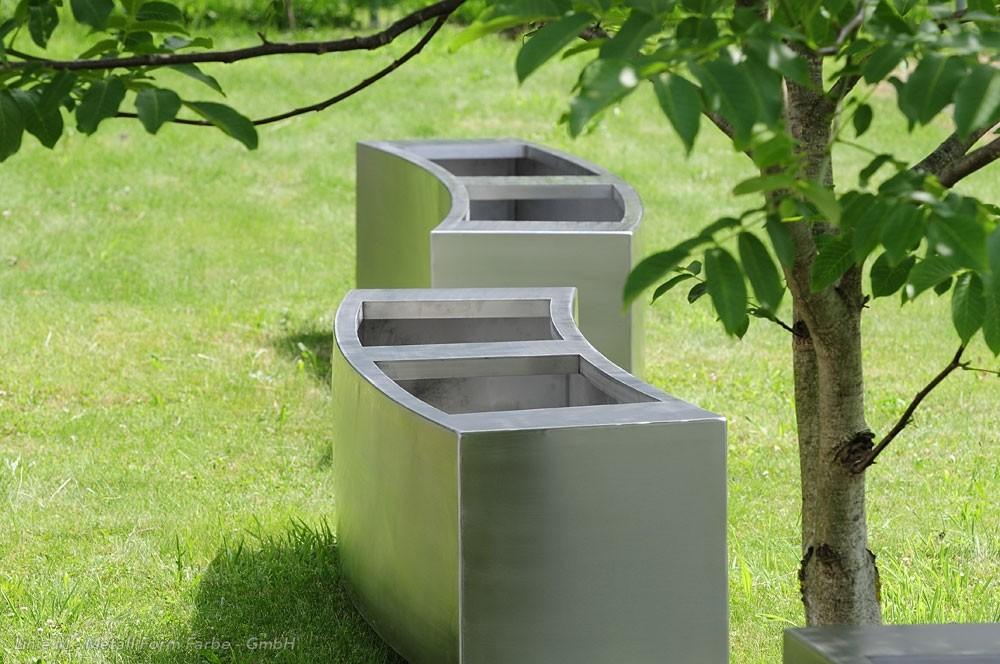 Pflanzkübel » Linie M - Metall Form Farbe